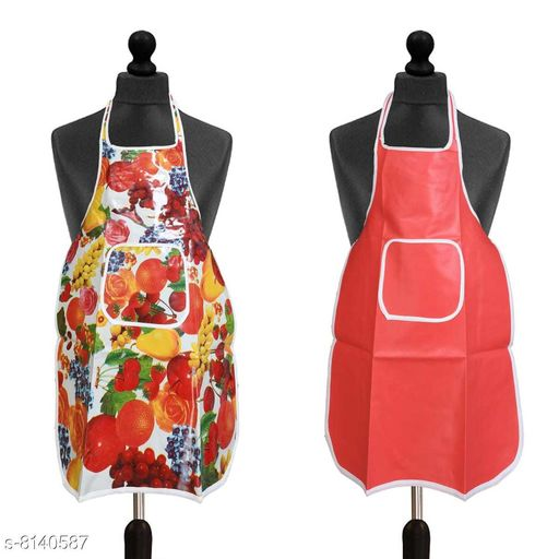 Aprons Apron   *Material* Polyester  *Pack* Pack of 2  *Sizes Available* Free Size *    Catalog Name: Classy Aprons CatalogID_1351958 C129-SC1633 Code: 942-8140587-994