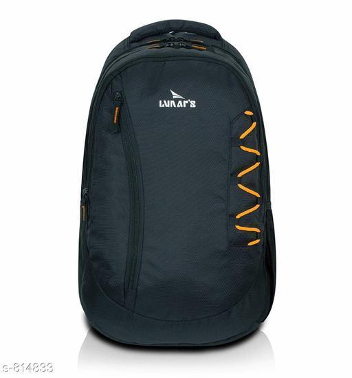 Classy Men's Polyester Backpack
