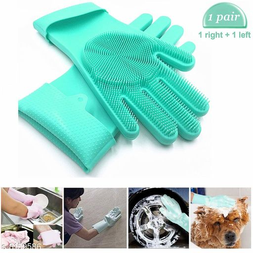 Mufflers, Scarves & Gloves Silicone Scrubbing Gloves Silicone Scrubbing Gloves Country of Origin: India Sizes Available: Free Size   Catalog Rating: ★3.9 (102)  Catalog Name: Check out this trending catalog CatalogID_1356227 C65-SC1228 Code: 042-8159586-