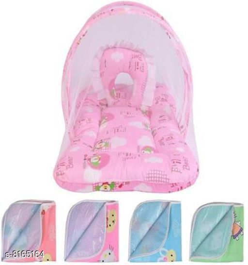 Baby Mosquito Nets Beautifull Baby Mosquito Nets  *Fabric * Cotton  *Pattern * Printed  *Pack* Pack of 1  *Sizes* 0-6 Months  *Sizes Available* Free Size *    Catalog Name: Free Mask Baby Mosquito Nets (Replica) CatalogID_1357456 C142-SC1732 Code: 738-8165164-