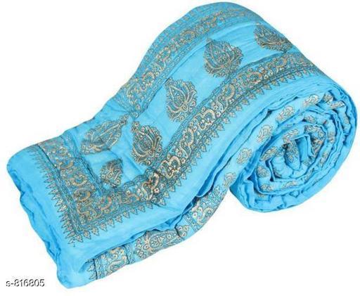Colorful Cotton Floral Single Comforter