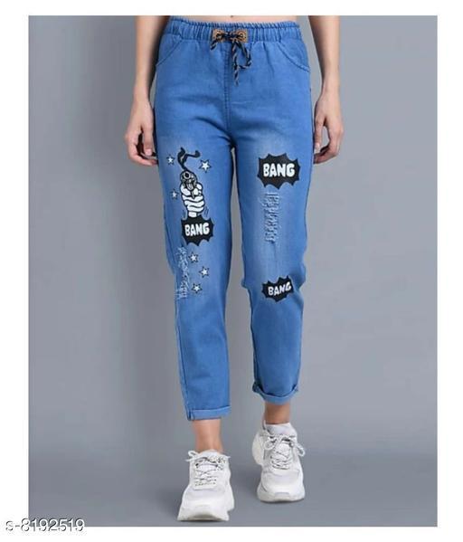 Jogger jeans for girls
