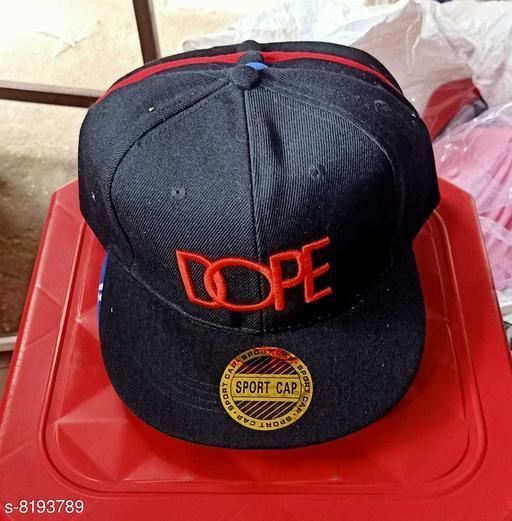 Caps & Hats Men's cap  *Material* Cotton  *Multipack* 1  *Sizes* Free Size  *Sizes Available* Free Size *    Catalog Name: Fashionable Trendy Men Caps & Hats CatalogID_1364022 C65-SC1229 Code: 903-8193789-
