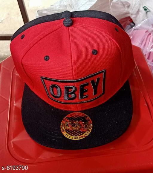 Caps & Hats Men's cap  *Material* Cotton  *Multipack* 1  *Sizes* Free Size  *Sizes Available* Free Size *    Catalog Name: Fashionable Trendy Men Caps & Hats CatalogID_1364022 C65-SC1229 Code: 903-8193790-