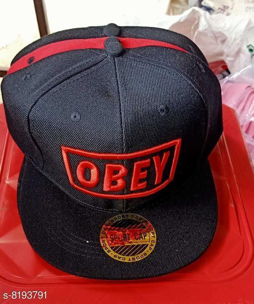 Caps & Hats Men's cap  *Material* Cotton  *Multipack* 1  *Sizes* Free Size  *Sizes Available* Free Size *    Catalog Name: Fashionable Trendy Men Caps & Hats CatalogID_1364022 C65-SC1229 Code: 903-8193791-