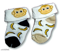 Advikavya Baby Baby Socks very acctractive and cute soft colour is assorted