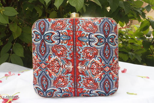 Clutches Stylish Clutches  *Material* Fabric  *Pattern* Printed  *Multipack* 1  *Sizes*  Free Size  *Sizes Available* Free Size *    Catalog Name: Free Mask Stylish Clutches CatalogID_1366249 C73-SC1078 Code: 436-8203380-