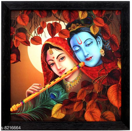 Posters, Paintings & Frames TS NANDA Lord Radha Krishna Print Photo Frame for Home Decoration- (Wooden, 14 x 1 x 14 Inch.) Material: Wooden Pack: Pack of 1 Product Length: 14 INCH Product Breadth: 0.5 INCH Product Height: 14 INCH Country of Origin: India Sizes Available: Free Size *Proof of Safe Delivery! Click to know on Safety Standards of Delivery Partners- https://ltl.sh/y_nZrAV3  Catalog Rating: ★4.4 (16)  Catalog Name: Wonderful Single Frames CatalogID_1369281 C127-SC1436 Code: 492-8216664-999