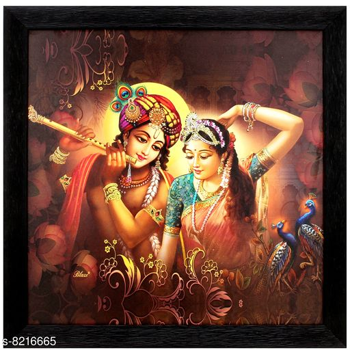 Posters, Paintings & Frames TS NANDA Lord Radha Krishna Print Photo Frame for Home Decoration- (Wooden, 14 x 1 x 14 Inch.) Material: Wooden Pack: Pack of 1 Product Length: 14 INCH Product Breadth: 0.5 INCH Product Height: 14 INCH Country of Origin: India Sizes Available: Free Size *Proof of Safe Delivery! Click to know on Safety Standards of Delivery Partners- https://ltl.sh/y_nZrAV3  Catalog Rating: ★4.4 (16)  Catalog Name: Wonderful Single Frames CatalogID_1369281 C127-SC1436 Code: 492-8216665-999