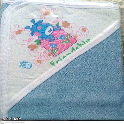 Baby Towels Graceful Stylish Baby Towels  *Material* Cotton  *Size* Standard  *Multipack* 1  *Color* Multicolor  *Sizes Available* Free Size *    Catalog Name: Graceful Stylish Baby Towels CatalogID_1369816 C142-SC1735 Code: 013-8219205-