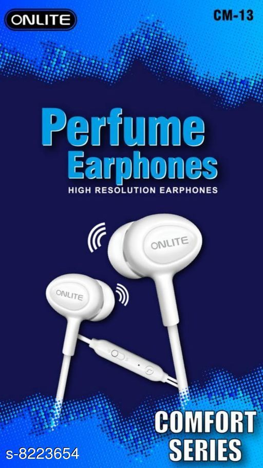Wired Headphones & Earphones Wired Headphones & Earphones  *Product Name* Wired Headphones & Earphones  *Material* ABS Plastic  *Product Type* Earphone  *Multipack* 1  *Sizes*  Free Size  *Sizes Available* Free Size *   Catalog Rating: ★4.3 (12)  Catalog Name: Wired Headphones & Earphones CatalogID_1370906 C97-SC1375 Code: 091-8223654-