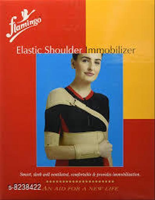 Orthopedics elastic shoulder immobilizer elastic shoulder immobilizer  *Sizes Available* Free Size *    Catalog Name: flamingo CatalogID_1374067 C125-SC1569 Code: 715-8238422-007