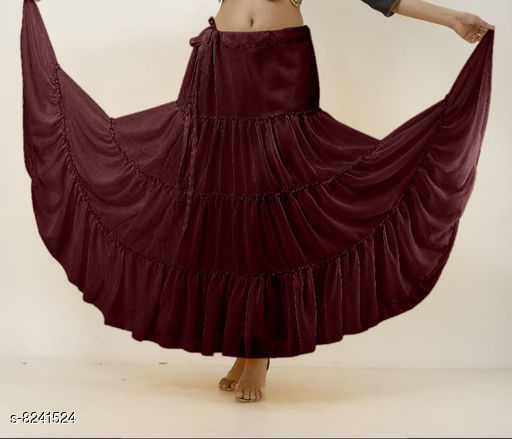 Attractive Polyggt Skirt