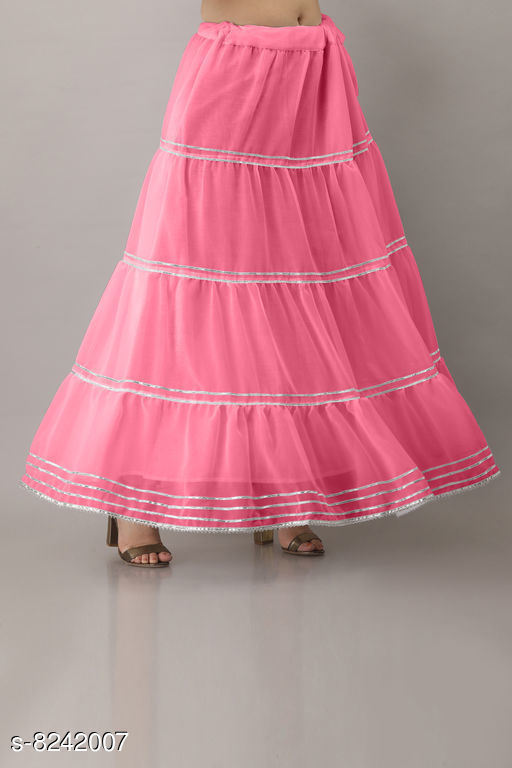 Attractive Women Polyester Skirts