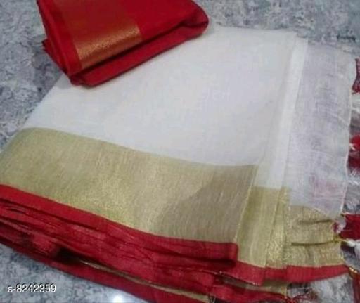Beautiful Cotton Linen Saree