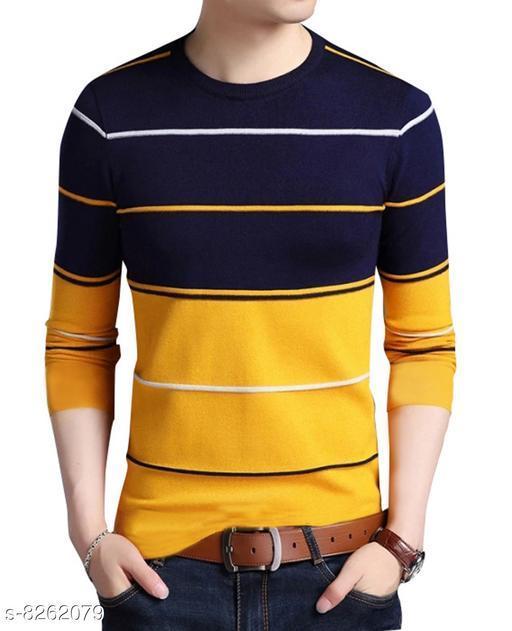 Seven Rocks 100% Cotton Regular Fit  Polo Neck Half Sleeve Men's Sweatshirts
