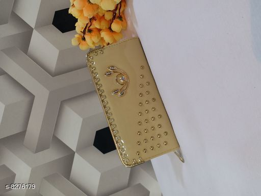 Wallets Attractive Wallets  *Material* PU  *Multipack* 1  *Sizes* Free Size (Length Size  *Sizes Available* Free Size *    Catalog Name: CasualLatest Women Wallets CatalogID_1382498 C73-SC1076 Code: 903-8276179-