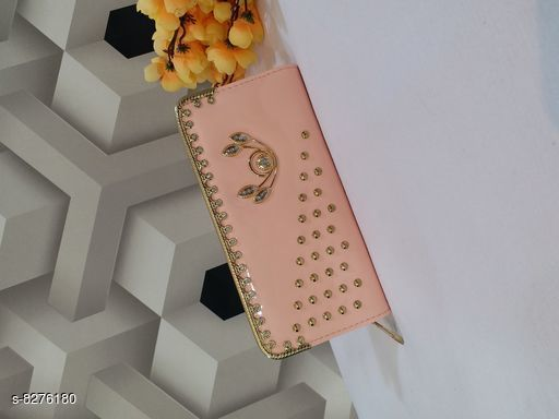 Wallets Attractive Wallets  *Material* PU  *Multipack* 1  *Sizes* Free Size (Length Size  *Sizes Available* Free Size *    Catalog Name: CasualLatest Women Wallets CatalogID_1382498 C73-SC1076 Code: 903-8276180-