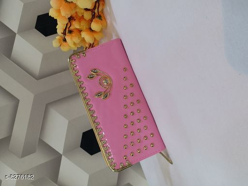 Wallets Attractive Wallets  *Material* PU  *Multipack* 1  *Sizes* Free Size (Length Size  *Sizes Available* Free Size *    Catalog Name: CasualLatest Women Wallets CatalogID_1382498 C73-SC1076 Code: 903-8276182-