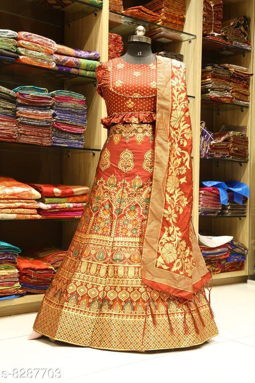 Designer silk lehengas