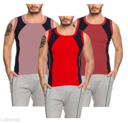 Simple Comfort Men's Gym Vest (Set of 3)