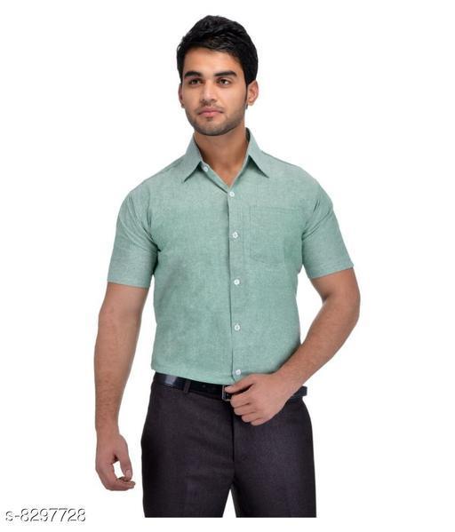 Men's Half Sleeves Cotton Shirt