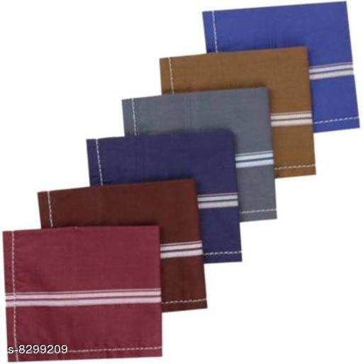Dark Color Wixera Handkerchief Pack Of 6