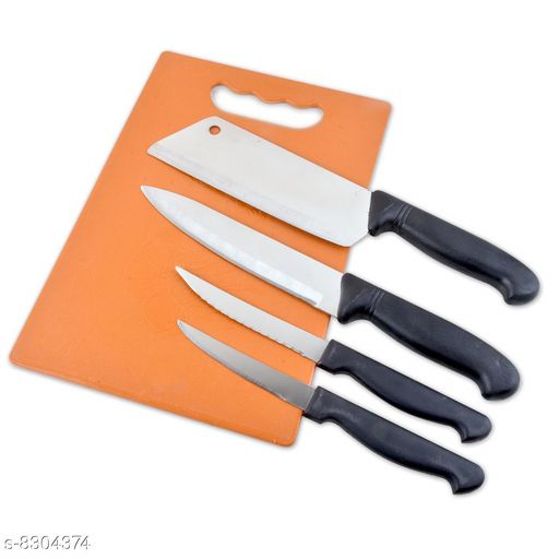 Knives & Knife Set knife set   *Material* Stainless Steel  *Sizes Available* Free Size *    Catalog Name: Modern Knives & Knife Set CatalogID_1389401 C135-SC1648 Code: 554-8304374-