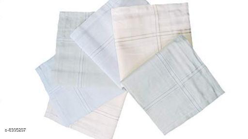 Hankerchiefs Beautiful Cotton Hankerchief  *Material* Cotton  *Multipack* 6  *Sizes*  Free Size  *Sizes Available* Free Size *    Catalog Name: Casual Trendy Men Handkerchief CatalogID_1389626 C65-SC1230 Code: 692-8305207-
