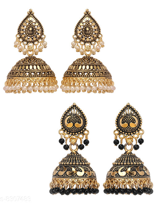Earrings & Studs Women Jewellery - Earrings & Studs  *Base Metal* Alloy  *Plating* Gold Plated  *Stone Type* Artificial Stones  *Sizing* Non-Adjustable  *Multipack* 1  *Sizes Available* Free Size *    Catalog Name: Women Jewellery - Earrings & Studs CatalogID_1390178 C77-SC1091 Code: 833-8307483-