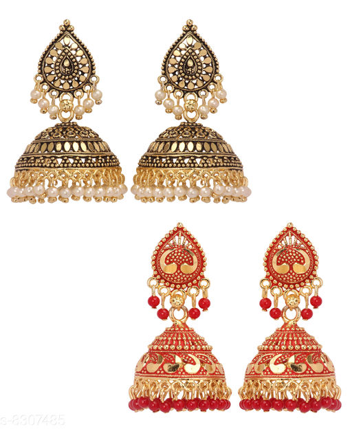 Earrings & Studs Women Jewellery - Earrings & Studs  *Base Metal* Alloy  *Plating* Gold Plated  *Stone Type* Artificial Stones  *Sizing* Non-Adjustable  *Multipack* 1  *Sizes Available* Free Size *    Catalog Name: Women Jewellery - Earrings & Studs CatalogID_1390178 C77-SC1091 Code: 833-8307485-