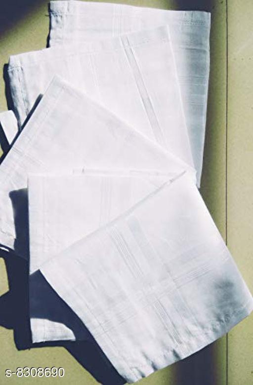 Hankerchiefs  Hankerchiefs  *Material* Cotton  *Multipack*   *Sizes*   *Free Size (Length Size* 2 in, Width Size  *Sizes Available* Free Size *    Catalog Name: Unique Men Handkerchief CatalogID_1390414 C65-SC1230 Code: 692-8308690-