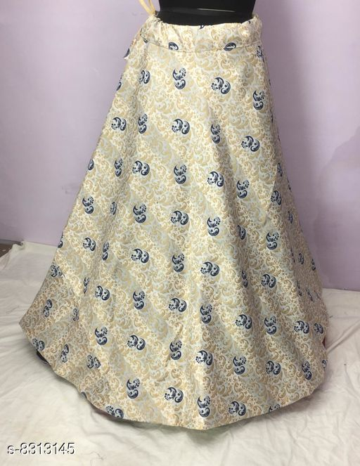 Ethnic Bottomwear - Skirts Ethnic Bottomwear - Skirts  *Fabric* Cotton  *Type* Ethnic Bottomwear - Skirts  *Pattern* Zari Woven/Printed  *Multipack* 1  *Sizes*   *40 (Waist Size* 40 in, Length Size  *Sizes Available* 36, 38, 40, 42 *    Catalog Name: Fancy Latest Women Western Skirts CatalogID_1391588 C74-SC1013 Code: 305-8313145-