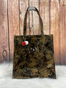 Fancy and Glossy Handbag for women