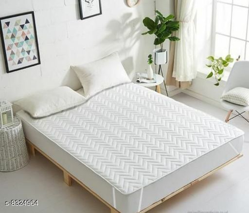 Mattress Protectors Waterproof and Dustproof Fitted King Size Waterproof and Dustproof Fitted King Size  *Material * Micro  *Size* Length  *Size Waist* 72 in  *Sizes Available* Free Size *    Catalog Name: Check out this trending catalog CatalogID_1394199 C53-SC1104 Code: 607-8324964-