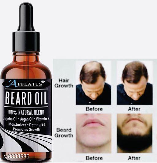 Afflatus Beard Growth and Mooch Hair Growth Oil