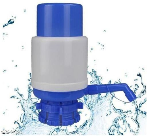 Water Purifier Hand Pump Manual Water Dispenser  Colour : Blue Material: Plastic Multipack ; 1 Type: Water pump Dispatch: 2-3 Days Country of Origin: India Sizes Available: Free Size   Catalog Rating: ★3.1 (16)  Catalog Name: Hand Pump Manual Water Dispenser CatalogID_1398686 C103-SC1480 Code: 222-8344926-