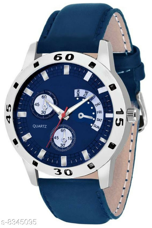 Men's Classic Leather Watch