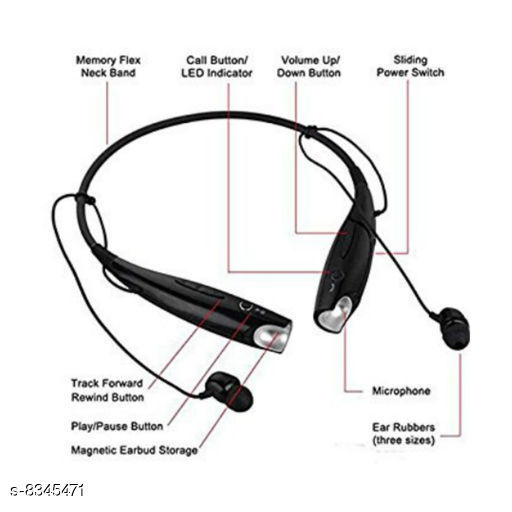 Wired Headphones & Earphones  Bluetooth Headphones & Earphones Bluetooth Headphones & Earphones  *Sizes Available* Free Size *    Catalog Name:  Bluetooth Headphones & Earphones CatalogID_1398835 C97-SC1375 Code: 934-8345471-