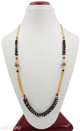Bholenath Trading Women's Pride Traditional And Stylist Direct Gold Plated Mangalsutra For Women