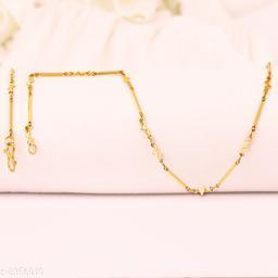 Gold Palted Golden Chain Light Weighted Brass Chain For Men Women