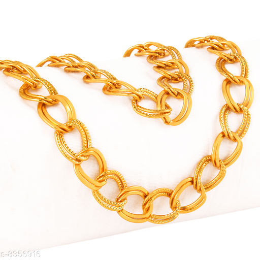 Gold Plated Golden Chain for Men & Women