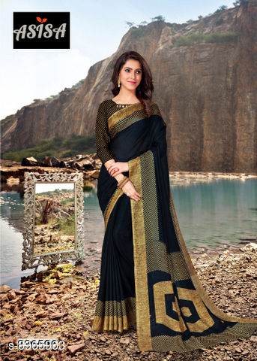 Asisa Jute Silk 6401-6406 Designer Fancy Saree