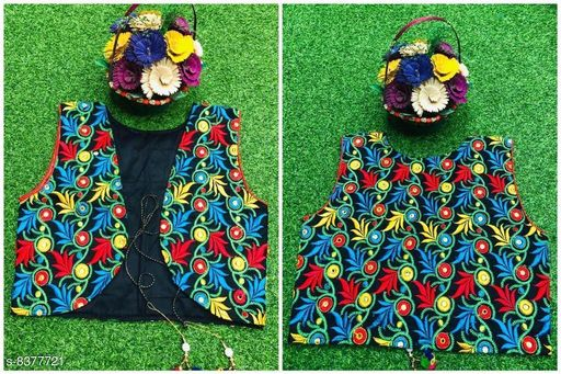 Jackets & Coats Doodle Trendy Woolen Kid's Girl's Ponchos  *Fabric* banglory silk  *Pattern* Embroidered  *Multipack* 1  *Sizes*   *Free Size (Length Size* 18 in)  *Sizes Available* Free Size *    Catalog Name: Tinkle Elegant Girls Jackets & Coats CatalogID_1406272 C62-SC1153 Code: 186-8377721-