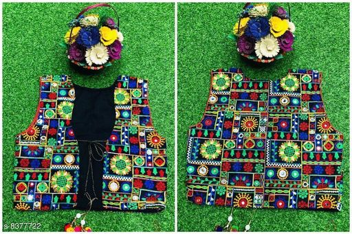 Jackets & Coats Doodle Trendy Woolen Kid's Girl's Ponchos  *Fabric* banglory silk  *Pattern* Embroidered  *Multipack* 1  *Sizes*   *Free Size (Length Size* 18 in)  *Sizes Available* Free Size *    Catalog Name: Tinkle Elegant Girls Jackets & Coats CatalogID_1406272 C62-SC1153 Code: 186-8377722-