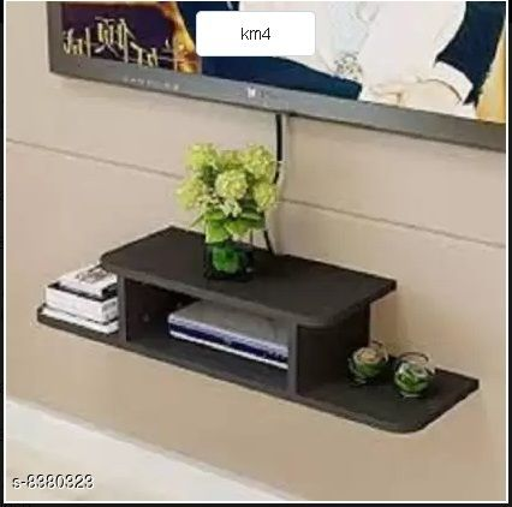 Stylish TV Setup Box & Remote Stand