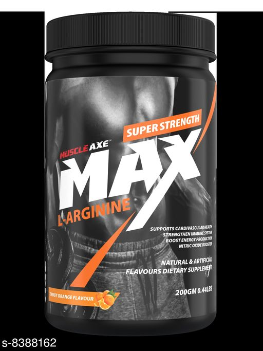Supplement (Herbal/Vitamins) L-Arginine_Orange_Flavour_Pack_of_200g L-Arginine_Orange_Flavour_Pack_of_200g  *Sizes Available* Free Size *    Catalog Name: Muscle Axe Max CatalogID_1408684 C126-SC1573 Code: 6111-8388162-0081
