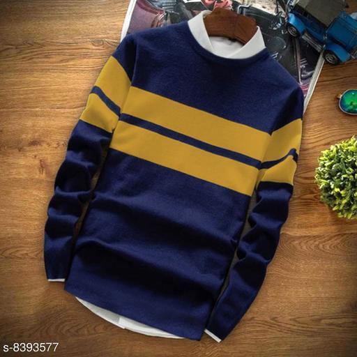 Seven Rocks 100% Cotton Regular Fit  Round Neck Full Sleeve Men's T-Shirt