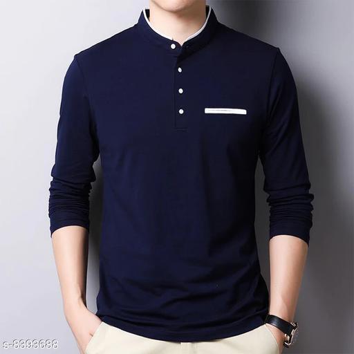 Seven Rocks 100% Cotton Regular Fit  Polo Neck Full Sleeve Men's Sweatshirts