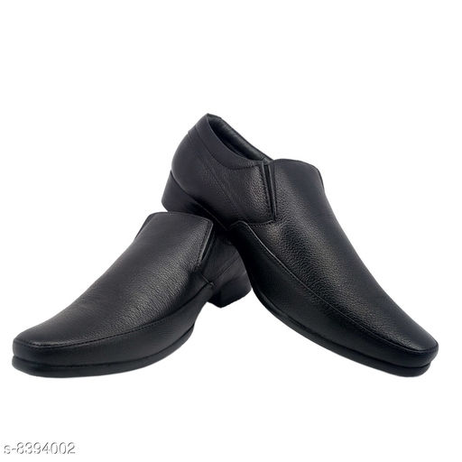 Formal Shoes URV Shoes|Best Comfortable Formal Shoes | Pure Genuine Leather Black Formal School Shoes | Official shoes for men  *Material* Leather  *Sole Material* PU  *Fastening & Back Detail* Slip-On  *Pattern* Solid  *Multipack* 1  *Sizes*   *IND-10 (Foot Length Size* 27.5 cm, Foot Width Size  *Sizes Available* IND-10 *    Catalog Name: Modern Attractive Men Formal Shoes CatalogID_1410032 C67-SC1236 Code: 2221-8394002-0042